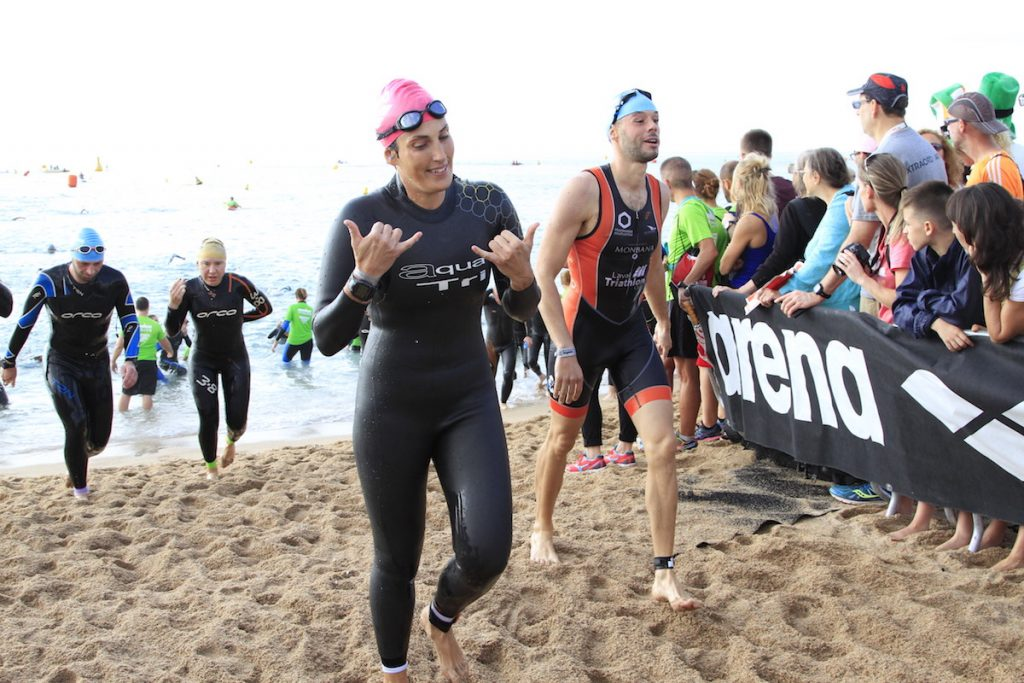 ironman barcelone natation